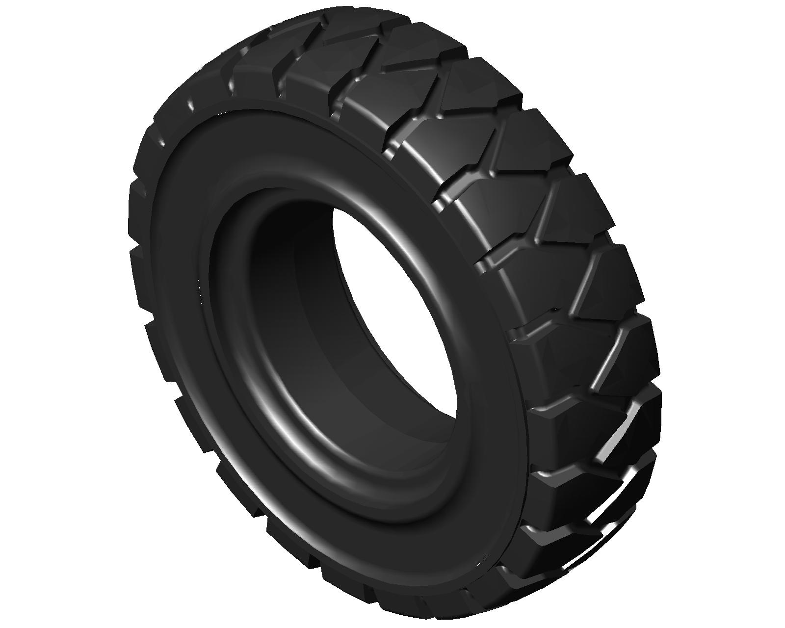 7x12 SOLID TYRE - FORKLIFT TYRE